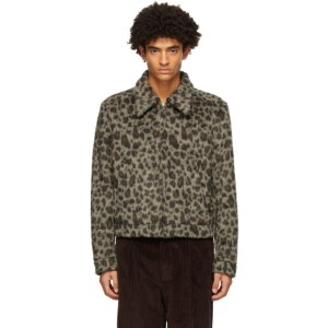 Second/Layer Brown and Black Filero Leopard Jacket