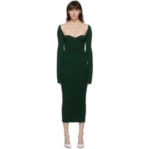 Khaite Green Beth Dress