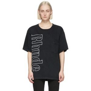 Rhude Black Logo Pocket T-Shirt