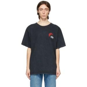 Rhude Black Moonlight Logo T-Shirt