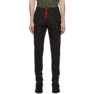 Greg Lauren Black Paul and Shark Edition 50/50 Trousers