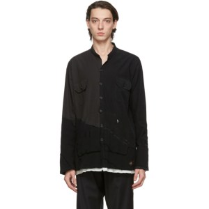 Greg Lauren Black Paul and Shark Edition 50/50 Shirt