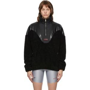 MISBHV Black Fleece Anorak Jacket