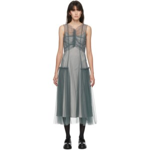 Molly Goddard SSENSE Exclusive Grey Nova Dress