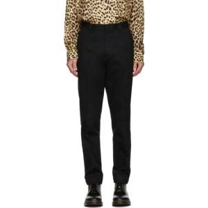 WACKO MARIA Black Carhartt WIP Edition Canvas Trousers