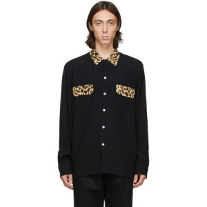 WACKO MARIA Black Carhartt WIP Edition 50s Shirt