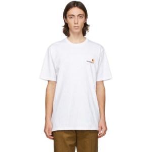 WACKO MARIA White Carhartt WIP Edition Logo T-Shirt