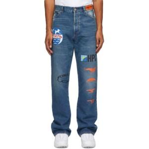 Heron Preston Blue Style Inc. Jeans