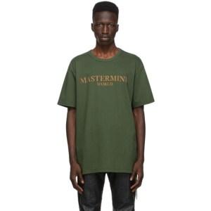 mastermind WORLD Green Cork T-Shirt