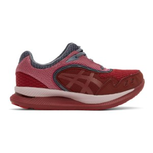 Kiko Kostadinov Red and Pink Asics Edition Gel-Glidelyte 3 Sneakers