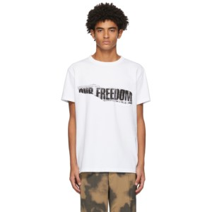 Schnaydermans White Our Freedom T-Shirt