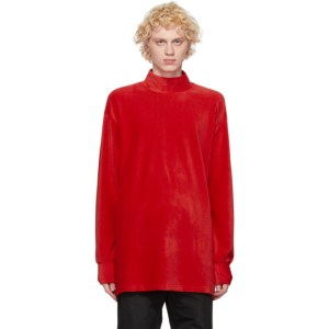Landlord Red Knit Sweater