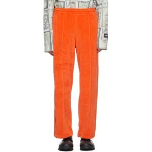 NAPA by Martine Rose Orange Velour M-Suininki Lounge Pants