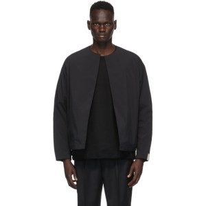 N.Hoolywood Black Technical Cardigan
