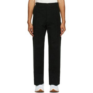 HOPE Black Velvet Van Trousers
