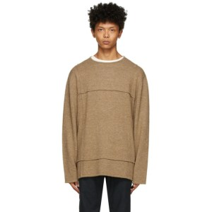 HOPE Beige Cut Sweater