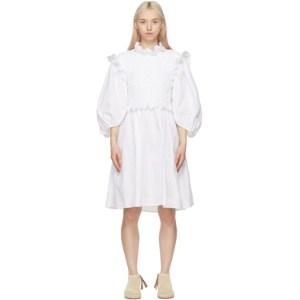 Cecilie Bahnsen SSENSE Exclusive White Cora Dress