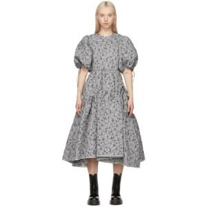 Cecilie Bahnsen SSENSE Exclusive Silver Libby Dress