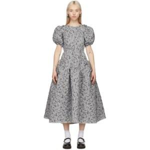 Cecilie Bahnsen SSENSE Exclusive Silver Katrine Dress
