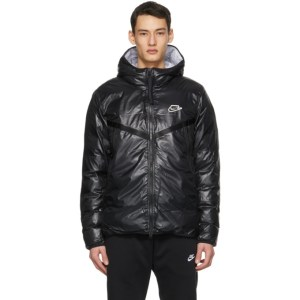 Nike Black Padded Windrunner Jacket