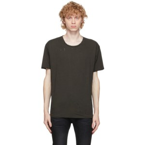R13 Brown Surplus Destroyed T-Shirt