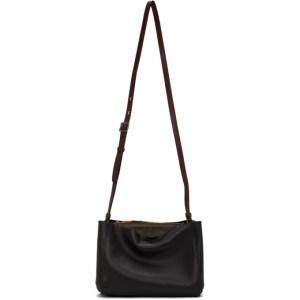 rag and bone Black Passenger Shoulder Bag