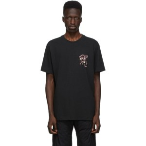 rag and bone Black Bull Ring T-Shirt