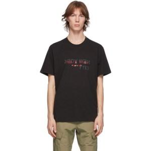 rag and bone Black NY Logo T-Shirt