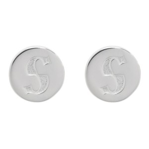 Stolen Girlfriends Club Silver S-Logo Cap Earrings