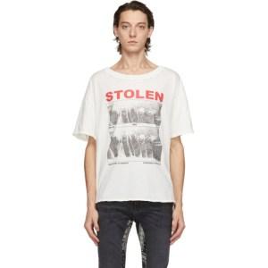 Stolen Girlfriends Club White Vintage Isolation T-Shirt