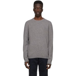 Norse Projects Grey Wool Sigfred Sweater