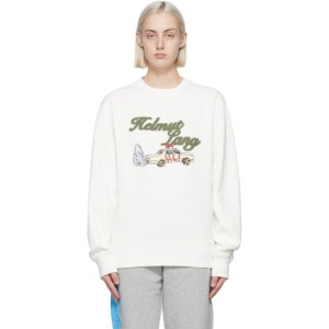 Helmut Lang Off-White Saintwoods Edition HL Taxi Sweatshirt