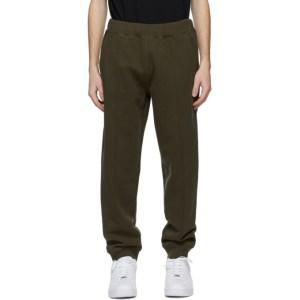 Helmut Lang Khaki Strap Lounge Pants
