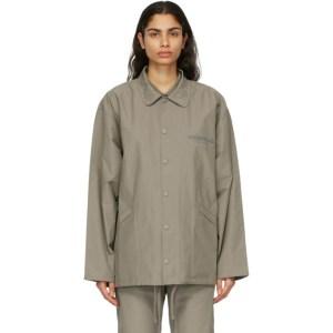 Essentials Khaki Coach Jacket