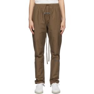 Essentials SSENSE Exclusive Brown Nylon Track Pants