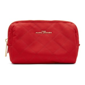 Marc Jacobs Red Triangle The Beauty Cosmetic Pouch