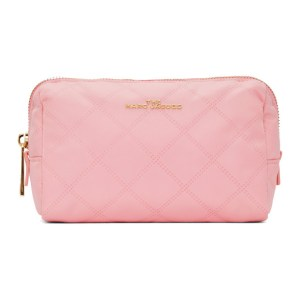 Marc Jacobs Pink Triangle The Beauty Cosmetic Pouch