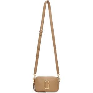 Marc Jacobs Beige The Softshot 17 Bag