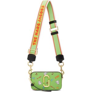 Marc Jacobs Green Magda Archer Edition The Snapshot Bag