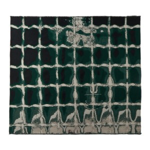 Serapis SSENSE Exclusive Green Grid Blanket