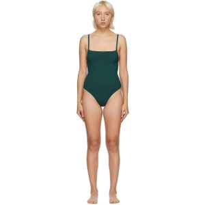 Lido Green Tre One-Piece Swimsuit