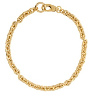 Laura Lombardi Gold Cable Chain Necklace