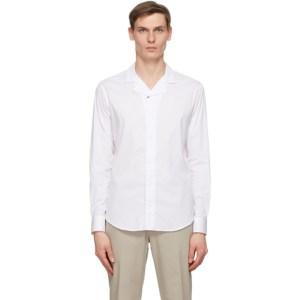 Giorgio Armani White Poplin Shirt