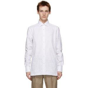Ermenegildo Zegna White Tailored Shirt