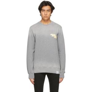 Golden Goose Grey Archibald Sweatshirt