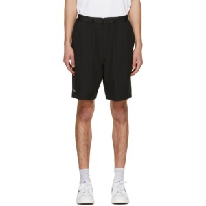 Lacoste Black Sport Stretch Tennis Shorts