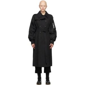 Regulation Yohji Yamamoto BlackISO Trench Coat