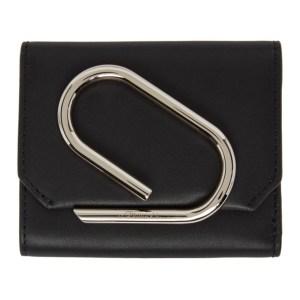 3.1 Phillip Lim Black Small Alix Flap Wallet