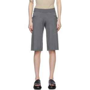 Frenckenberger Grey Cashmere Adi Shorts