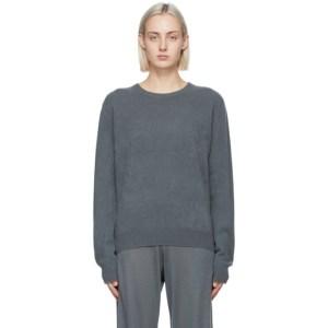 Frenckenberger Grey Cashmere Mini Sweater